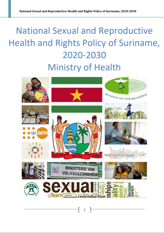 National Sexual and Reproductive Health and Rights Policy of Suriname, 2020-2030